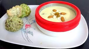 Custard apple kheer /payasam/ pudding(phalahari recipe)   Indian ...